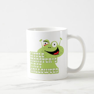 Little Moster's First Halloween Coffee Cup Classic White Coffee Mug