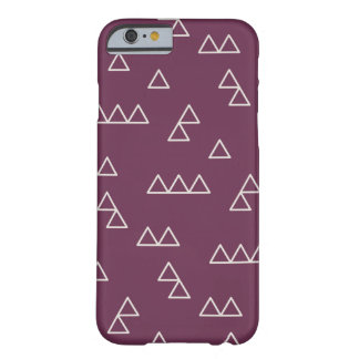 Little Mountains Phone Case - Plum Barely There iPhone 6 Case