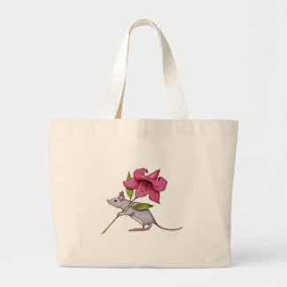 Little Mouse With Big Flower: Lily, Art Bag