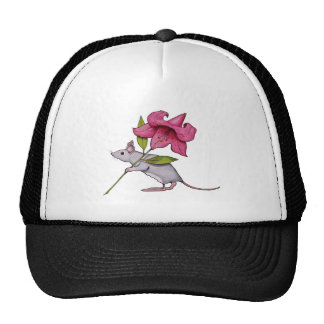 Little Mouse With Big Flower: Lily, Art Trucker Hat