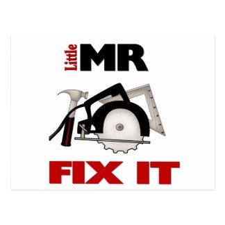 Little Mr Fix It Postcard
