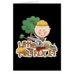 Little Mr. Fix-It Saw t-shirts and Gifts Greeting Card