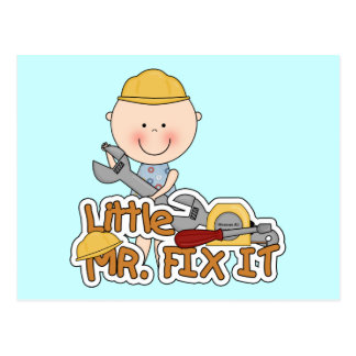 Little Mr. Fix It - Wrench Tshirts and Gifts Postcard