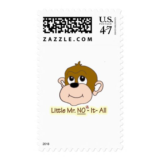 Little Mr No It All Postage