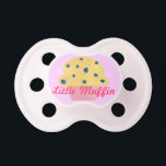 """Little Muffin Pacifier<br><div class=""""desc"""">Cute and Girly Muffin Design Pacifier</div>"""
