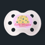"Little Muffin Pacifier<br><div class=""desc"">Cute and Girly Muffin Design Pacifier</div>"