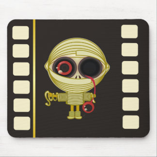 Little Mummy Horror Movie Mouse Pad