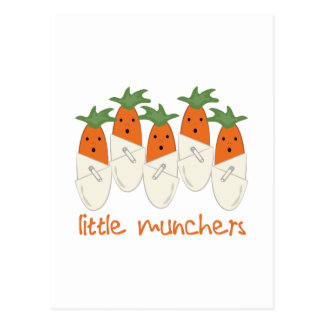 Little Munchers Postcard