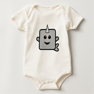 Little Narwhal Baby Bodysuit