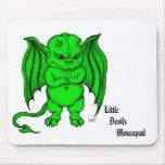 Little nasty Devil Mouse Pad