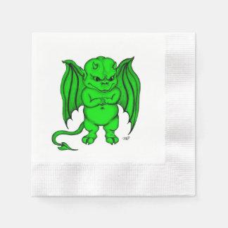 Little nasty Devil Paper Napkin