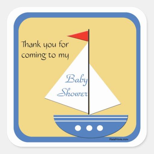 Little Navigator - Baby Shower Sticker