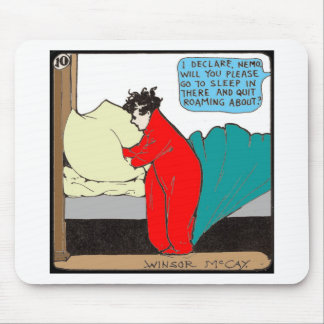 """""""Little Nemo"""" in Bed Mouse Pad"""