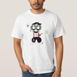 Little Nerd Zombie T Shirt