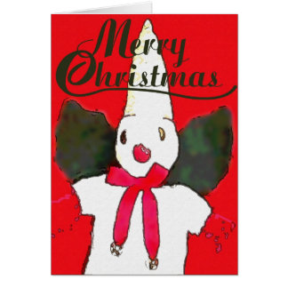 Little New Orleans Snowman Card
