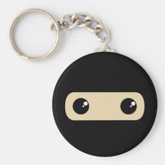 Little Ninja Basic Round Button Keychain