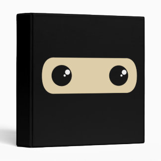 Little Ninja Vinyl Binder