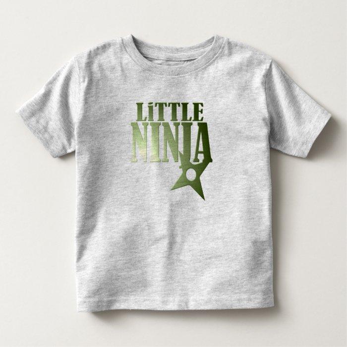 Little Ninja for Kids - Customizable Toddler T-shirt