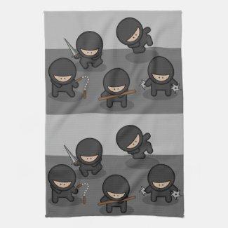 Little Ninjas Kitchen Towels
