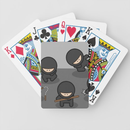 Little Ninjas Playing Cards!