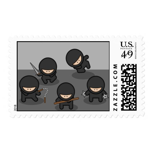 Little Ninjas Stamp