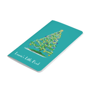 Little Notebook - Christmas Tree - Personalizable