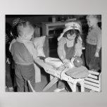 Little Nurse, 1943 Poster