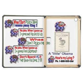 Little Obama Cover For iPad Air