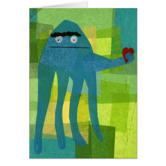 Little Octopus Birthday Greeting Greeting Card