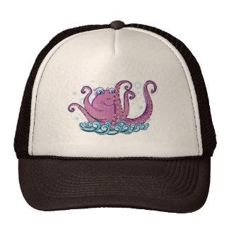 Little Octopus Trucker hat