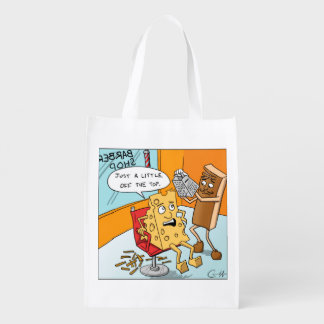"""Little off the Top"" Reusable Grocery Bag"