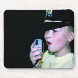 Little Officer 6 Mousepad