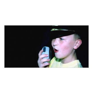 Little Officer 6 Photo Card