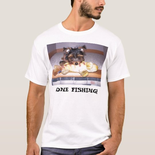 Little Oliver Lund, GONE FISHING! T-Shirt