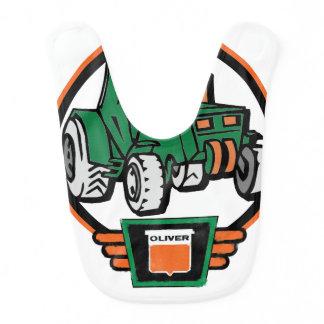Little Oliver Tractor Driver Bib