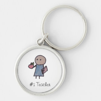 Little One #1 Teacher keychain