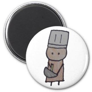 Little One baker magnet