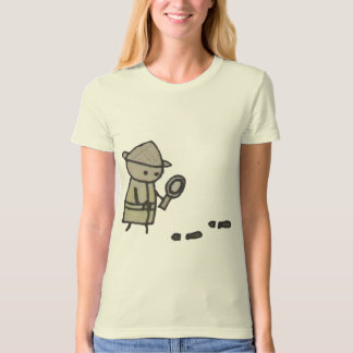 Little One detective womens organic fitted t-shirt