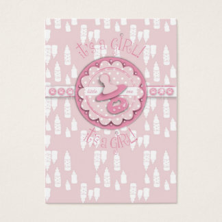 Little One Girl Gift Tag