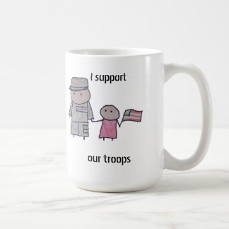 Little One military support mug