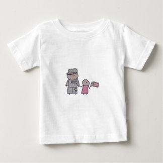 Little One military toddler shirt