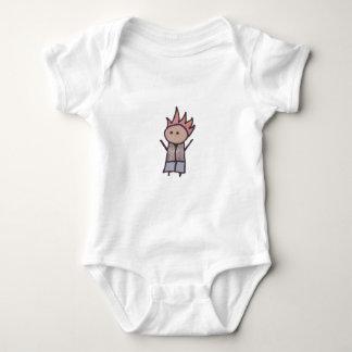 Little One rebel baby shirt