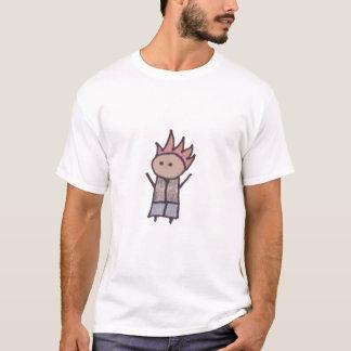 Little One rebel mens destroyed t-shirt