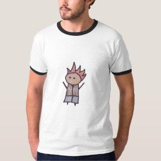 Little One rebel mens ringer t-shirt