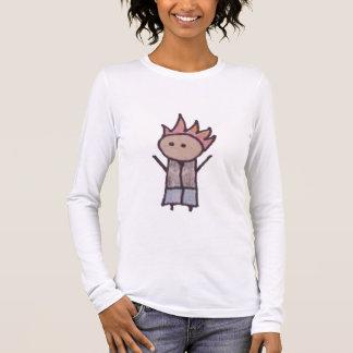 Little One rebel womens long sleeve t-shirt