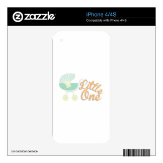 Little One iPhone 4S Decal