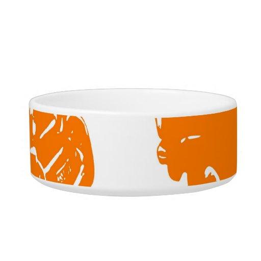 Little Orange Bus Bowl