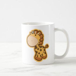 Little Orange Giraffe Coffee Mug