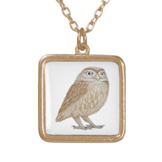 Little Owl 2011 Gold Plated Necklace
