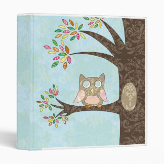 Little Owl Binder